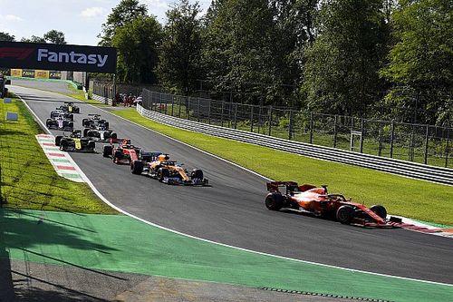 Vettel no quedó contento con la Q3 en Monza