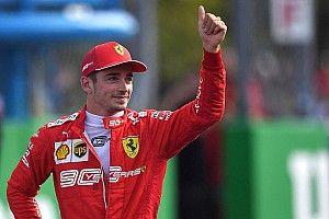 """Leclerc """"Piloto del Día"""" del GP de Italia"""