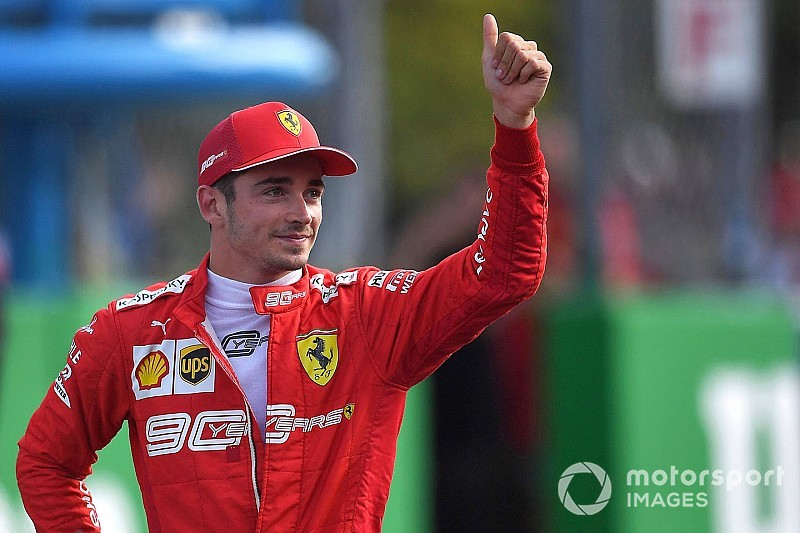 Italian GP: Leclerc grabs pole in qualifying farce