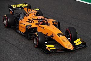 F2モンツァ・レース2:エイトケンが今季3勝目。松下ペナルティで3位は幻に