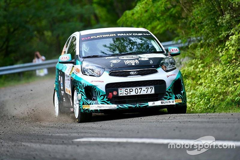 Rónavölgyiék nyerték a Salgó Rallye-t a Kia Platinum Rally Cupban