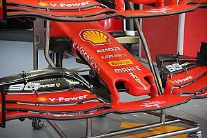 Ferrari: il muso aggiunge un profilo e mette il mantello!