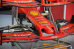Ferrari unveils new nosecone design for Singapore