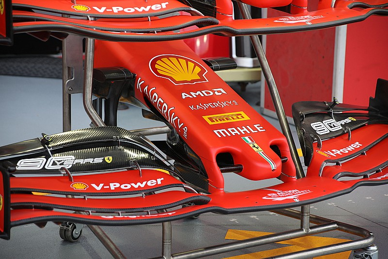 Ferrari unveils new nosecone design for Singapore