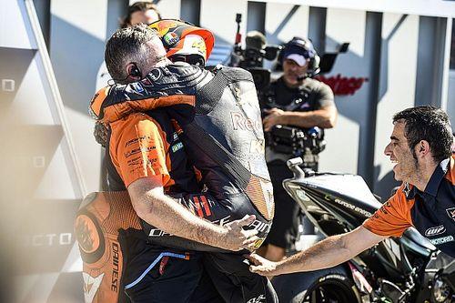 "KTM's ""new ideas"" key to Espargaro's ""unbelievable"" front row"