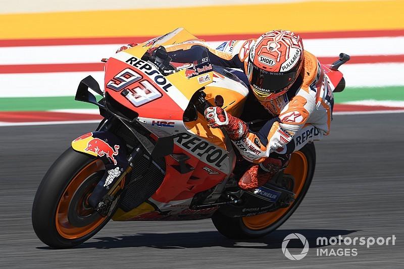 MotoGPサンマリノ決勝:マルケス、クアルタラロとのバトル制し今季7勝目