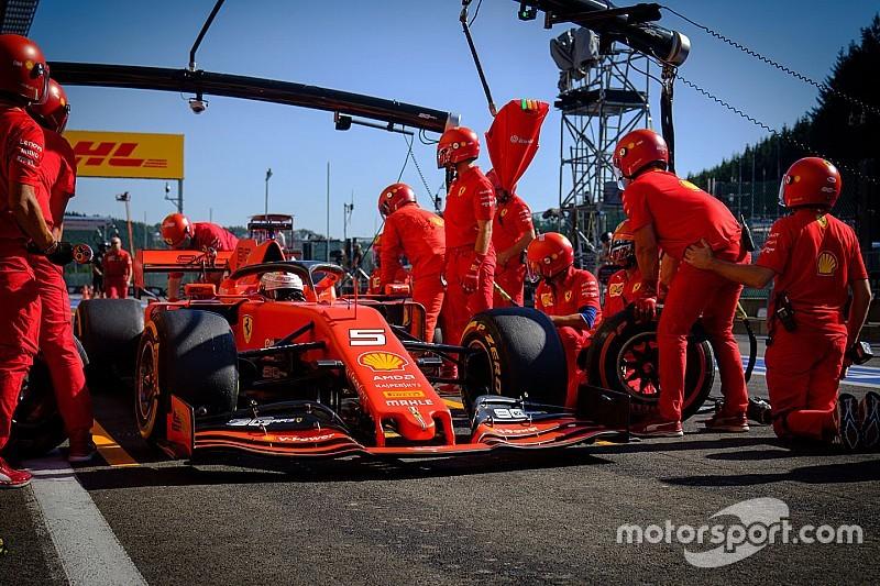De snelste pitstops in het F1-seizoen 2019