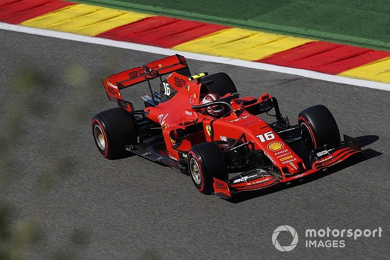 Leclerc pakt eerste Grand Prix-zege in België, DNF Verstappen