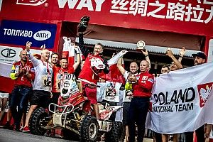 Sonik zwycięzcą Silk Way Rally