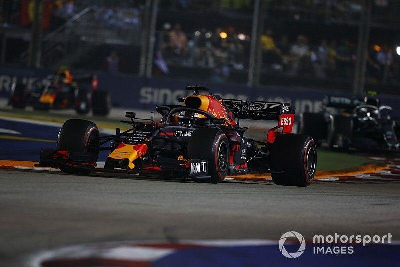Verstappen: Singapur, una llamada de atención para Red Bull