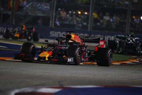 """Verstappen dice que Singapur fue un """"toque de atención"""" para Red Bull"""