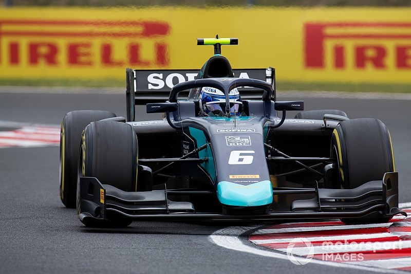 Hungary F2: Latifi sees off de Vries to win feature race
