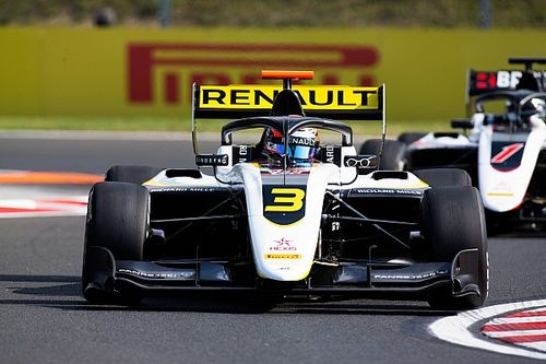 Hungary F3: Lundgaard converts pole into first win