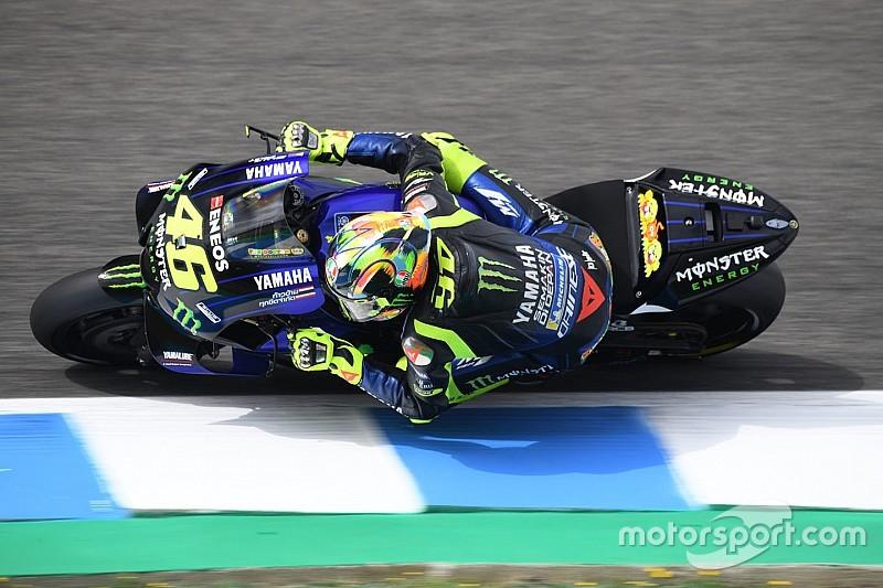 """""""Não encontramos nada que mude nossa vida"""", diz Rossi após teste da MotoGP"""