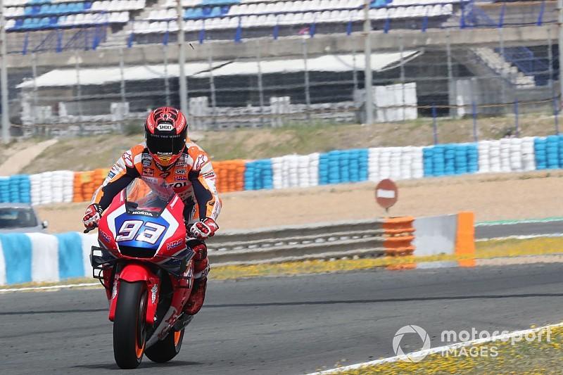 Galería: las mejores fotos del test de MotoGP en Jerez