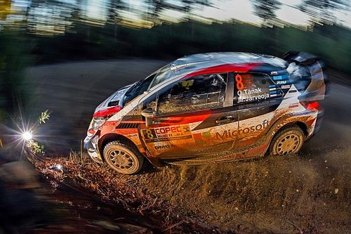 Chile WRC: Tanak in command after Neuville rolls out