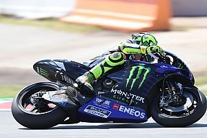 Valentino Rossi avalia novidades testadas na moto da Yamaha