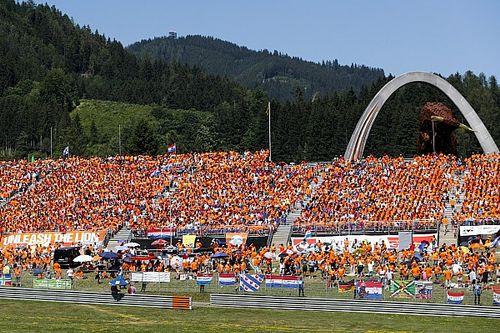 Volle tribunes bij GP Oostenrijk: Maximale capaciteit mag benut