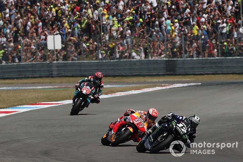 MotoGP in Assen: Maverick Vinales gewinnt Duell gegen Marc Marquez