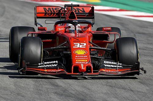 Test Barcellona, Giorno 2: Raikkonen sale secondo, Fuoco lavora sulle gomme Ferrari