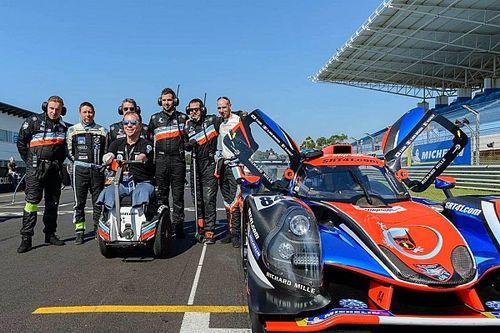 Un trio de pilotes handicapés au départ de Road To Le Mans