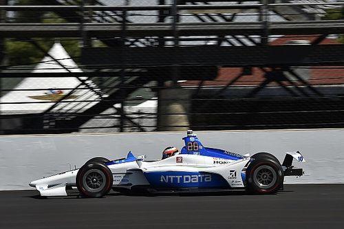 Rosenqvist choca en el segundo día de pruebas de Indy 500