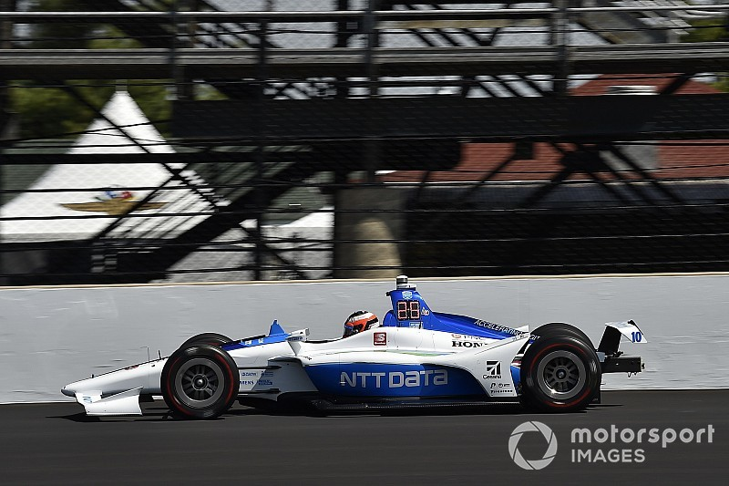 Rosenqvist shunts on Day 2 of Indy 500 practice
