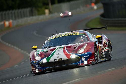 Virtual 24h Le Mans: Ferrari con Leclerc, Giovinazzi e i GTE Pro