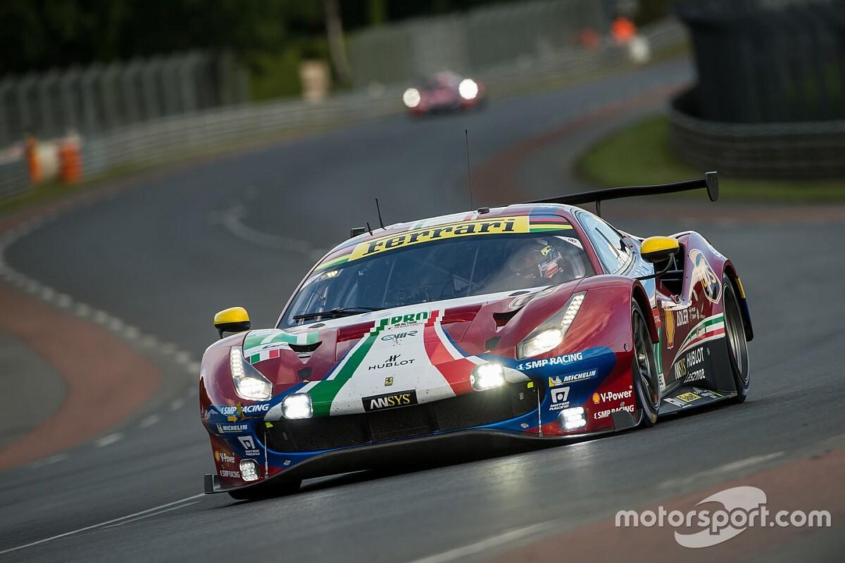 24h di Le Mans: in GTE Pro qualifiche complicate per le Ferrari