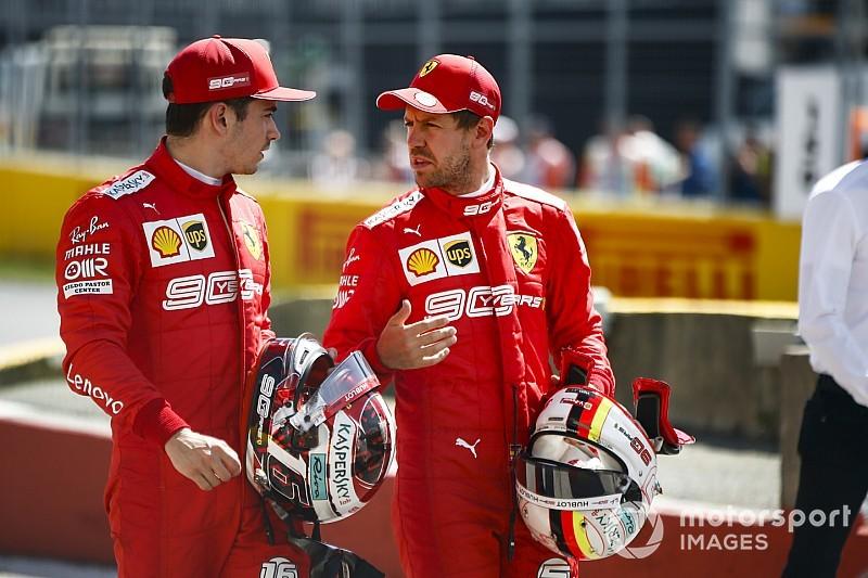 Leclerc, Vettel'in Ferrari'den ayrılacağını düşünmüyor