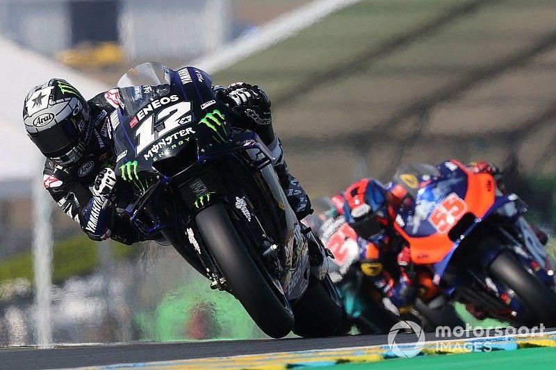 Viñales cierra el viernes arriba en Le Mans