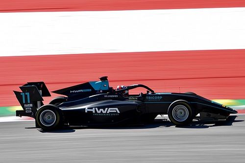 F3 Red Bull Ring: Hughes wint na clash Armstrong en Shwartzman