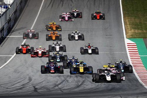 Teams in F2 en F3 krijgen conceptkalender, geen Zandvoort