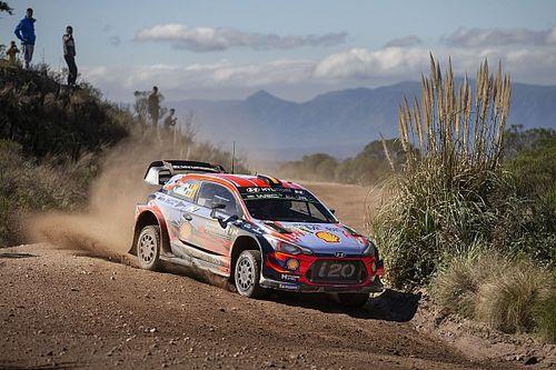 Argentina WRC: Neuville leads Hyundai 1-2, Tanak out
