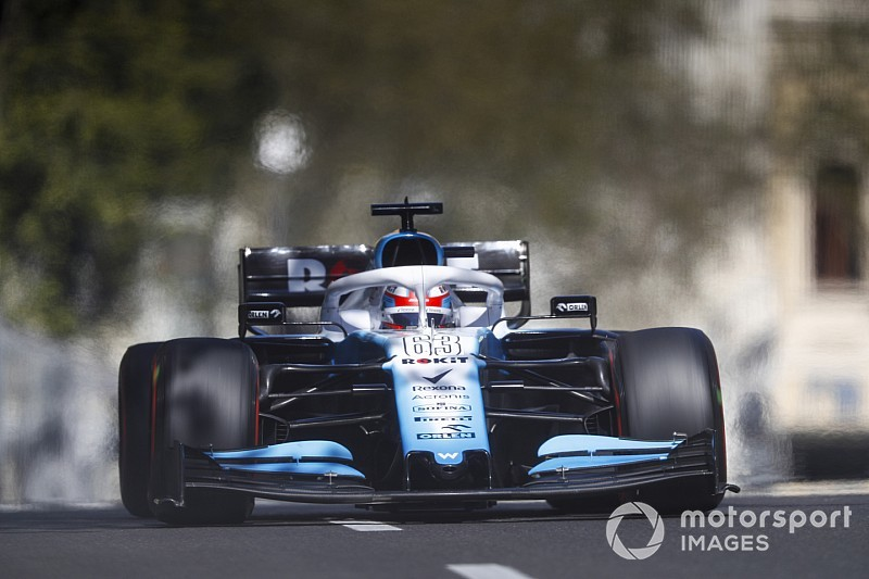 Russell relieved Baku F1 weekend is over