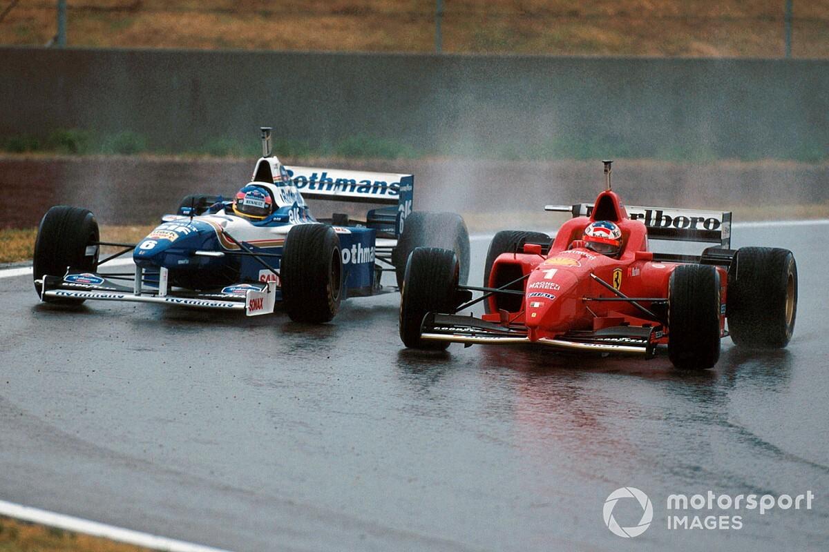 Las 10 mejores actuaciones en agua en la Fórmula 1