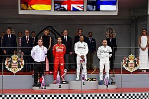 摩纳哥大奖赛:汉密尔顿力压维斯塔潘胜出,莱克勒克遭遇主场退赛