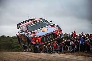 Argentina WRC: Neuville takes lead after Tanak spin