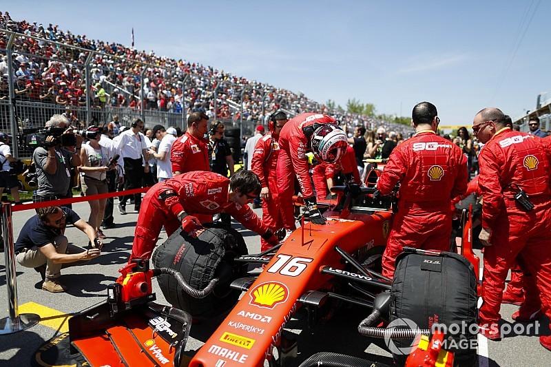 """Leclerc vallomása: """"Bahrein után valami megváltozott, és Vettel kevesebb hibát vét"""""""