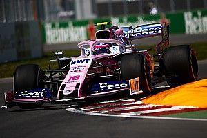 Racing Point ikilisi Montreal'deki ilk günün ardından çok mutlu