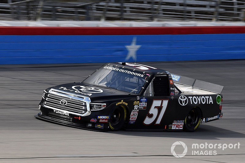 Biffle scores fairytale Truck race win after 18 year drought