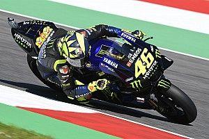 """Rossi: """"Yamaha più veloce nelle curve? 3 o 4 anni fa, ora non facciamo tutta sta differenza"""""""
