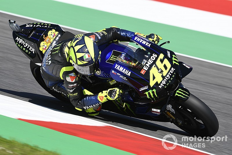 """Rossi: """"El año pasado iba más cómodo, ahora no tengo ritmo y soy lento"""""""