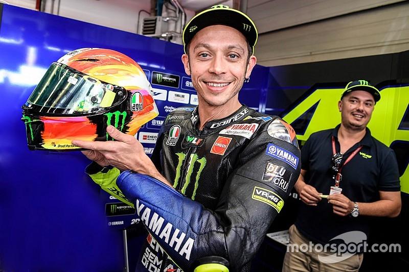 Леонардо да Винчи и супергерои. Самые необычные шлемы в этом сезоне MotoGP