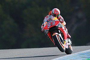 FP1 MotoGP Spanyol: Marquez dominan, Honda 1-2
