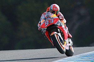 MotoGP Jerez FT1: Marquez mit Bestzeit vor Lorenzo, Rossi auf P18