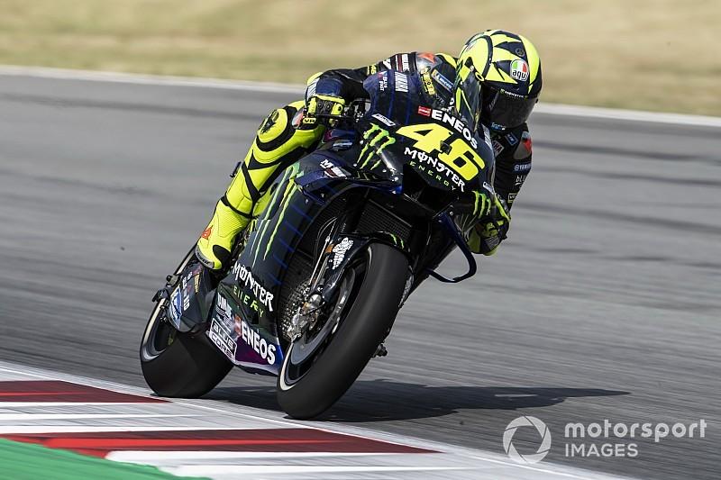 """Rossi: """"Lorenzo pasa por un mal momento, se vio delante y lo intentó"""""""