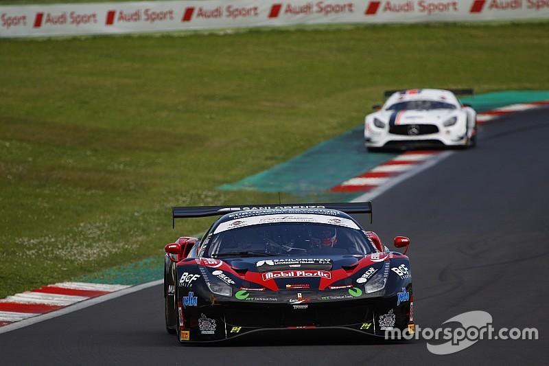 Buono il rientro di Lorenzo Casè nel GT Sprint Italiano