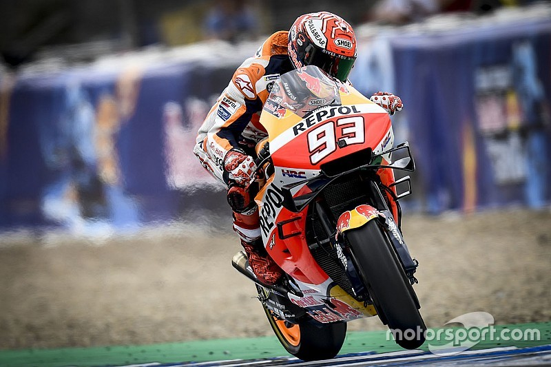 Jerez MotoGP: Marquez tops warm-up despite more Honda problems