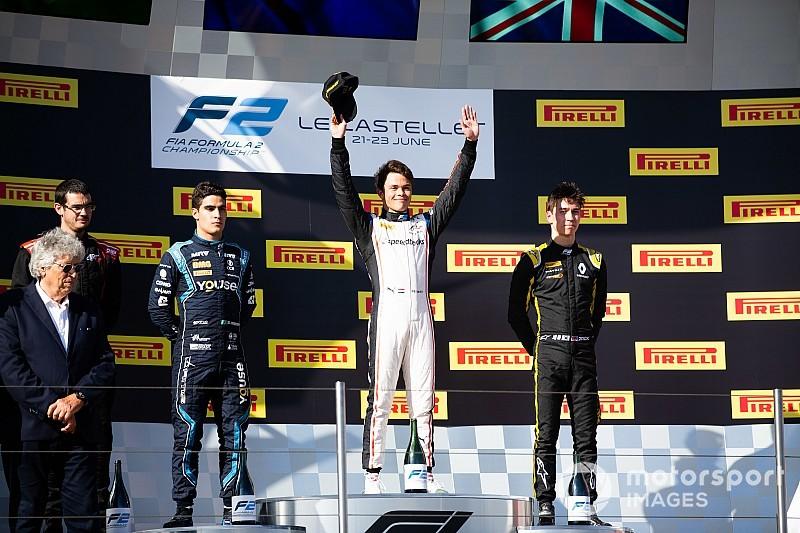 F2 Paul Ricard: De Vries slaat dubbelslag met winst hoofdrace